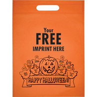 Imprinted halloween bag with your imprinted logo