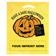 imprinted halloween bags custom