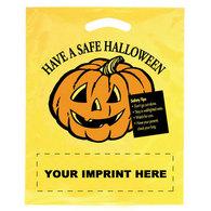 imprinted halloween bags custom