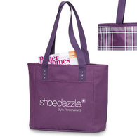 Val's Reversible Tote Bag in purple